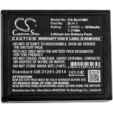 Battery for Olympus E-M1 Mark II BLH-1 7.4V Li-ion 1050mAh / 7.77Wh