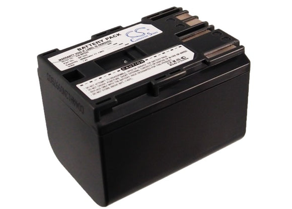 Battery for Canon FV20 BP-522 7.4V Li-ion 3000mAh / 22.20Wh