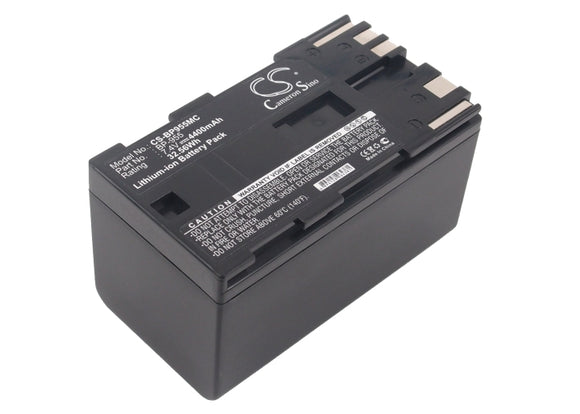Battery for Canon XF305 BP-955 7.4V Li-ion 4400mAh / 32.56Wh