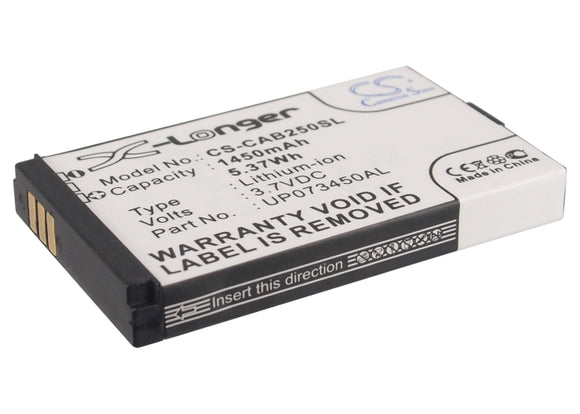 Battery for JCB Toughphone Sitemaster 2 3.7V Li-ion 1450mAh / 5.37Wh