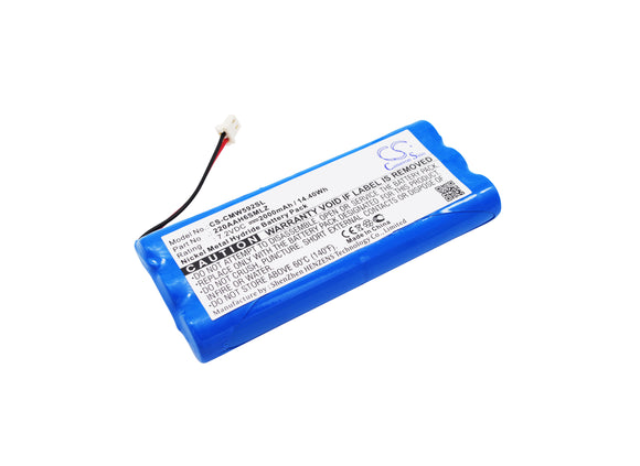 Battery for ClearOne 592-158-001 220AAH6SMLZ 7.2V Ni-MH 2000mAh / 14.40Wh