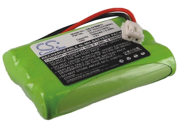 Battery for AT&T E598-2 80-5848-00-00, 89-0099-00, BT27910, BT5633, BT6823, TL26