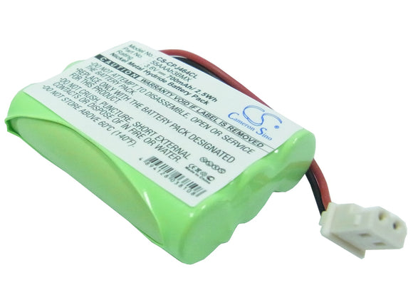 Battery for AT&T Lucent TL1100 3.6V Ni-MH 700mAh / 2.52Wh