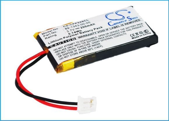 Battery for AT&T TL7600 80-7428-01-00, 80-7927-00-00, 89-1343-00-00, BT190545, B