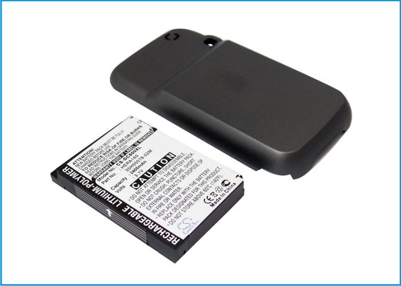 Battery for O2 XDA Terra 35H00078-02M, HERA160 3.7V Li-Polymer 2400mAh / 8.88Wh