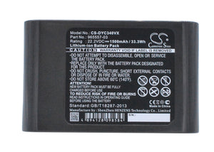Battery for Dyson DC31 Animal 202932-02, 202932-05, 202932-06, 917083-01, 965557