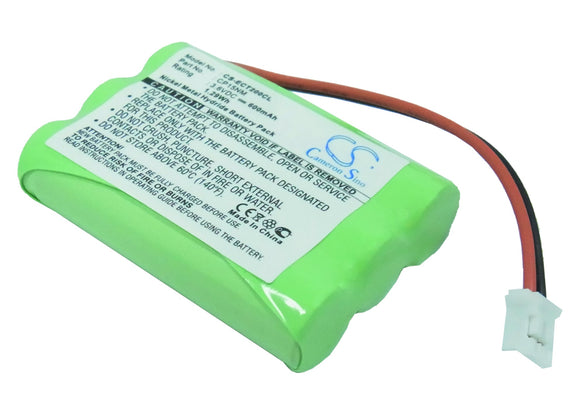 Battery for Alcatel Altiset Comfort C101272, CP15NM, NC2136, NTM/BKBNB 101 13/1