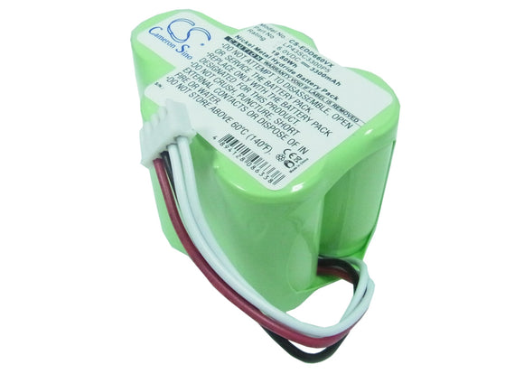 Battery for COD RB001 6V Ni-MH 3300mAh / 19.80Wh