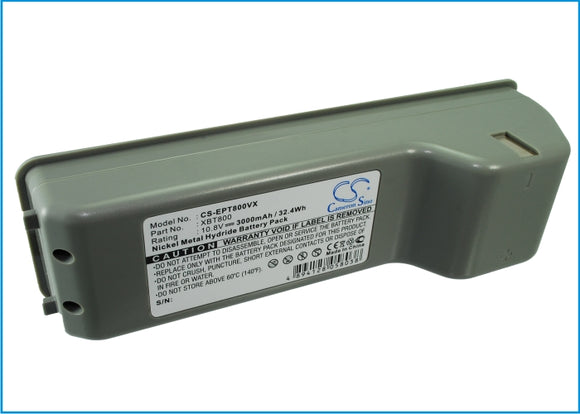 Battery for Shark XBT800 XBT800, XSB800CH 10.8V Ni-MH 3000mAh / 32.40Wh