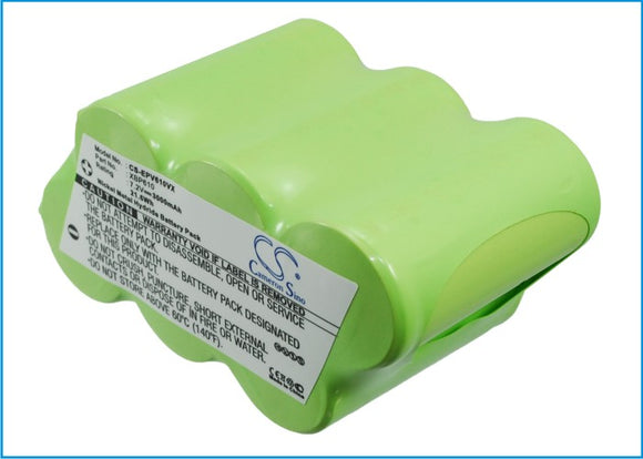Battery for Shark XBP610 XBP610 7.2V Ni-MH 3000mAh / 21.60Wh