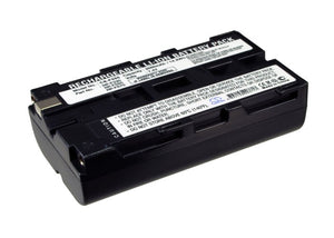 Battery for Sony CCD-TRV27E NP-F330, NP-F530, NP-F550, NP-F570 7.4V Li-ion 2000m