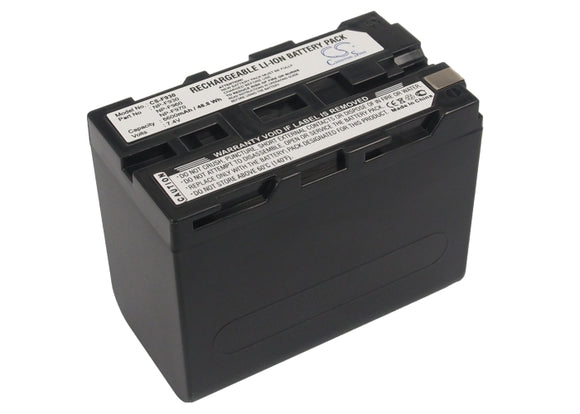 Battery for Sound Devices PIX-E 7.4V Li-ion 6600mAh / 48.84Wh