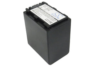 Battery for Sony HDR-SR12E NP-FH100 7.4V Li-ion 3300mAh