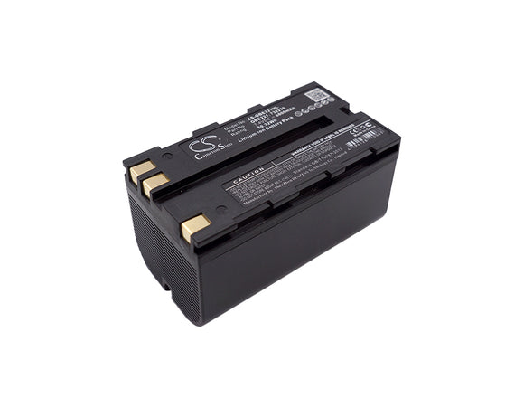 Battery for Leica Flexline total stations 724117, 733270, 772806, GBE221, GEB21,
