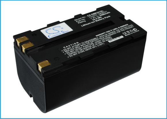 Battery for Leica System 1200 GNSS receivers 724117, 733270, 772806, GBE221, GEB