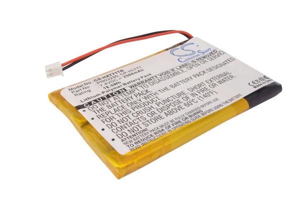 Battery for Digital Prisim ATSC710 CP-HLT71, PL903295 7.4V Li-Polymer 2500mAh /