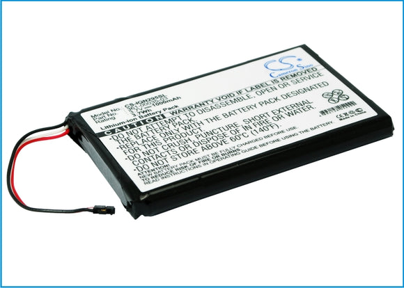 Battery for Garmin Varia RTL501 3.7V Li-ion 1000mAh / 3.70Wh