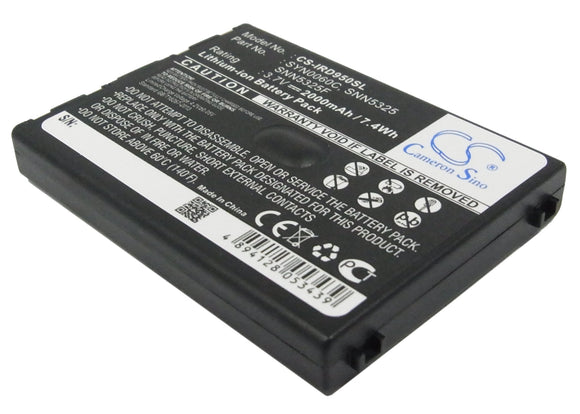 Battery for Iridium 9505 SNN5325, SNN5325F, SYN0060C 3.7V Li-ion 2000mAh / 7.40W