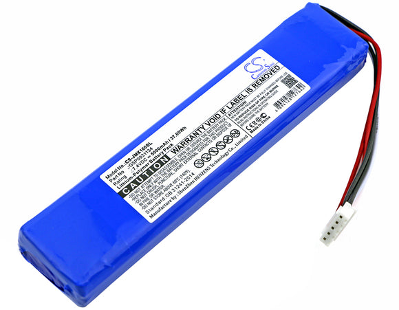 Battery for JBL Xtreme GSP0931134 7.4V Li-Polymer 5000mAh / 37.00Wh