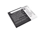 Battery for Modelo Zonda Mega ZA950 KLB200N289 3.7V Li-ion 2000mAh / 7.40Wh