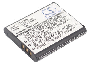 Battery for Casio Exilim EX-TR350 NP-10, NP-150 3.7V Li-ion 800mAh / 2.96Wh