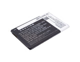 Battery for AT&T GoPhone 4G LTE 3.8V Li-ion 2150mAh / 8.17Wh