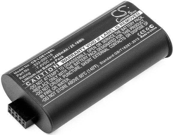 Battery for Logitech UE MegaBoom 533-000116, 533-000138 7.4V Li-ion 3400mAh / 25