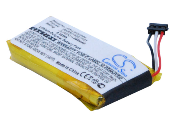 Battery for Logitech N-R0044 1311, 533-000069, AHB521630PJT-01 3.7V Li-Polymer 2