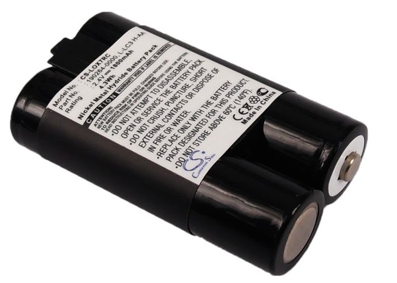 Battery for Logitech LX 700 Cordless Desktop 190264-0000, L-LC3 H-AA, L-LC3H-AA