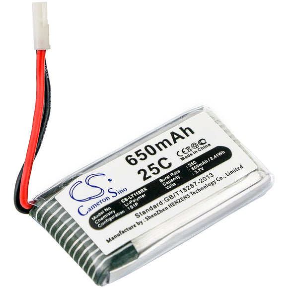 Battery for Wltoys V931 3.7V Li-Polymer 650mAh / 2.41Wh