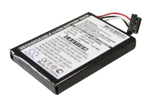 Battery for Pioneer AVIC-S1 3.7V Li-ion 1250mAh / 4.63Wh