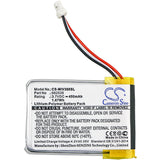 Battery for Mio Mivue 388 (1ICP6/26/36), 582535 3.7V Li-Polymer 450mAh / 1.67Wh