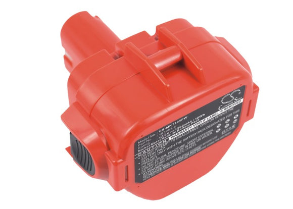 Battery for Makita UC120DWAE 1220, 1222, 192598-2, 192681-5, 192698-8, 192698-A,