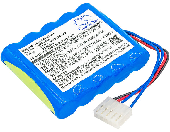 Battery for Monarch Nova Strobe VBX 6280-046 6V Ni-MH 3500mAh / 21.00Wh