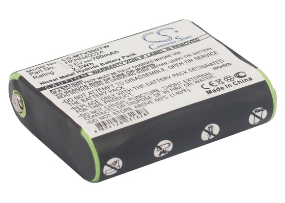 Battery for Motorola Talkabout EM1000R 1532, 4002A, 53615, 56315, FRS-4002A, FV5