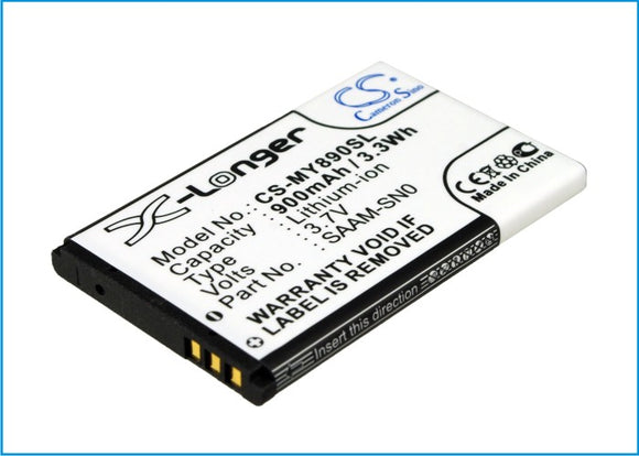 Battery for VEX IQ Controller VEX-228-2779 3.7V Li-ion 900mAh / 3.33Wh