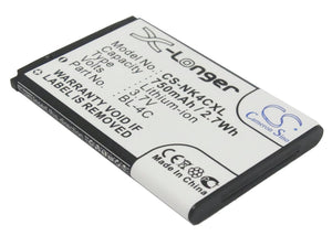Battery for Olympia Vox Color 3.7V Li-ion 750mAh / 2.78Wh