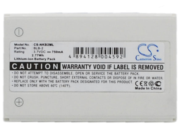 Battery for G-SHOT G515 BLI-248 3.7V Li-ion 750mAh / 2.78Wh