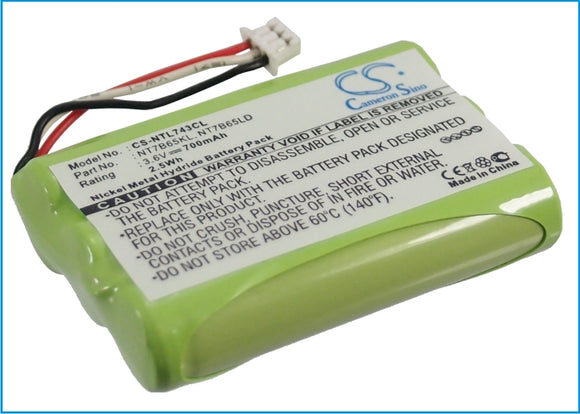 Battery for AGFEO DECT 30 3.6V Ni-MH 700mAh / 2.52Wh