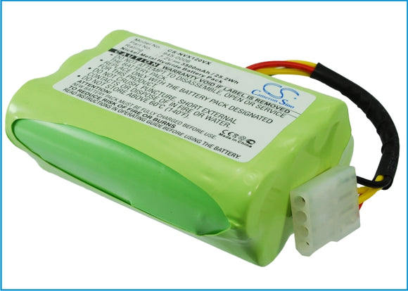 Battery for Vorwerk VX100 Saugroboter 7.2V Ni-MH 3500mAh / 25.20Wh