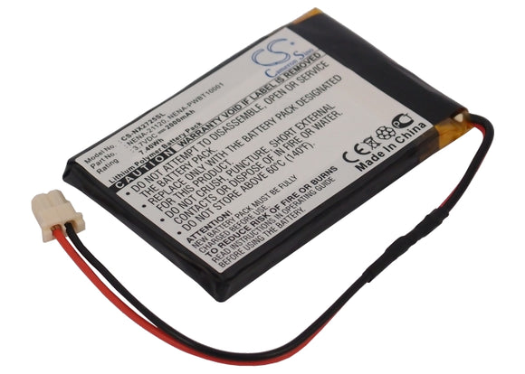Battery for Nexto ND2700 NENA-21120, NENA-PWBT10001, PWBT-10001 3.7V Li-Polymer