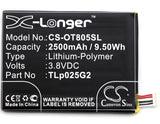 Battery for Alcatel One Touch Pixi 4 6.0 LTE CAC2580010C2, TLp025G2 3.8V Li-Poly