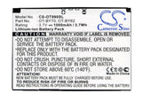 Battery for Alcatel One Touch 900 CAB3170000C1, CAB31LL0000C1, OT-BY70 3.7V Li-i
