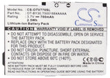Battery for Alcatel One Touch V770A B-Lava, CAB30C0000C1, OT-BY30, T5001664AAAA