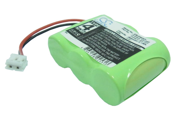 Battery for Aastra MAESTRO 4625 3.6V Ni-MH 600mAh / 2.16Wh