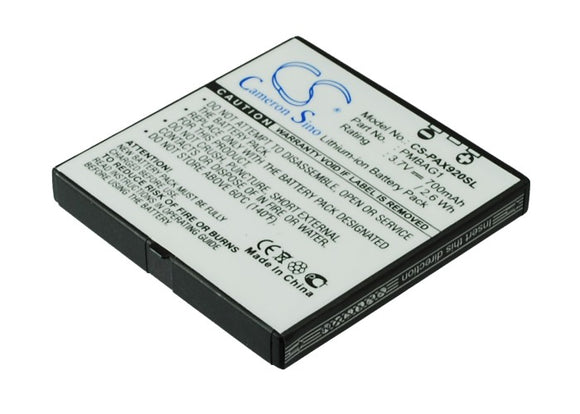 Battery for Panasonic 930P PMBAG1 3.7V Li-ion 700mAh