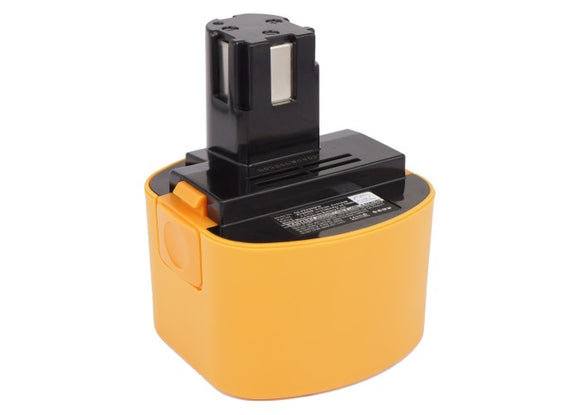 Battery for National EZT184C15K EY9086, EY9086B, EY9182, EY9182B 9.6V Ni-MH 2100