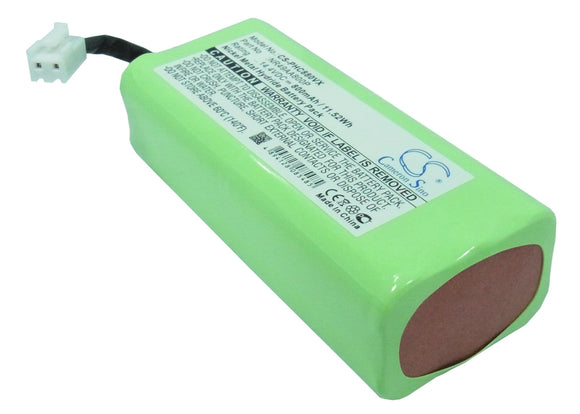 Battery for Philips FC8800 NR49AA800P 14.4V Ni-MH 800mAh / 11.52Wh