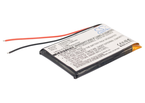 Battery for RAC 515F LP053450 1S1P 3.7V Li-Polymer 850mAh / 3.15Wh