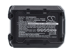 Battery for AEG BLL12C 3520, 3526, 4932, 584932, 954932, L1215, L1215P, L1215R,